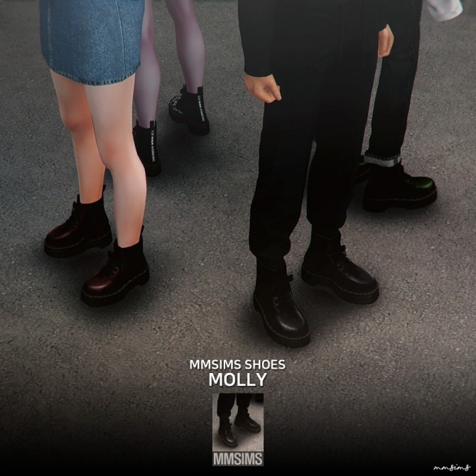 Dr. Martens Molly boots at MMSIMS image 848 670x670 Sims 4 Updates