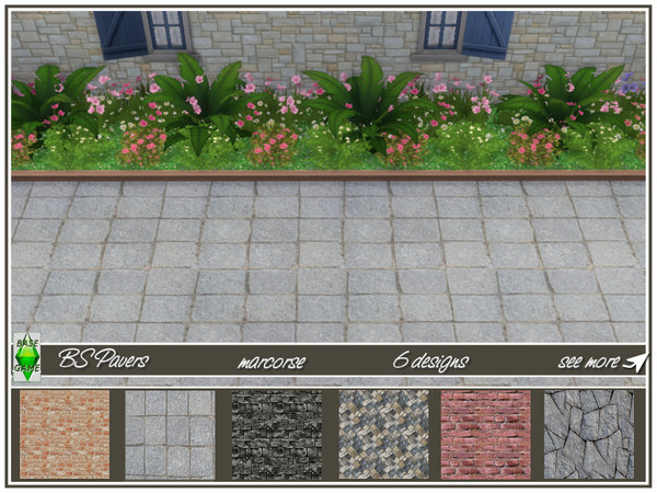BS Paving by marcorse at TSR image 8510 Sims 4 Updates