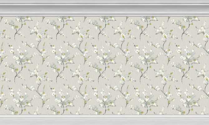 Sims 4 Noble Neutrals Wall Collection at SimPlistic