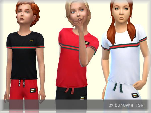 Sims 4 Shirt Gu by bukovka at TSR