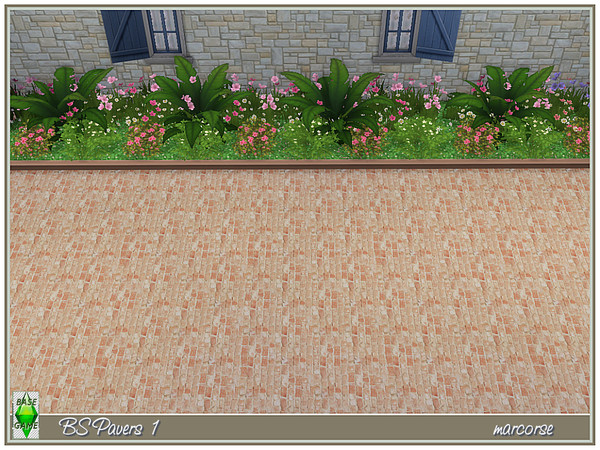 BS Paving by marcorse at TSR image 869 Sims 4 Updates