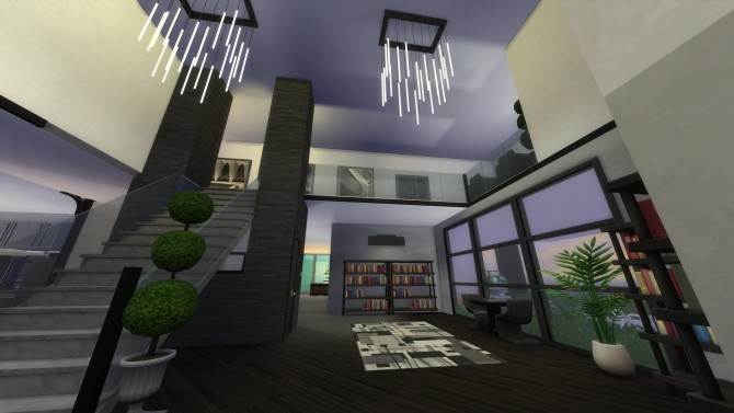 Sims 4 Modern Mogul Mansion by Simstwoyou at Mod The Sims