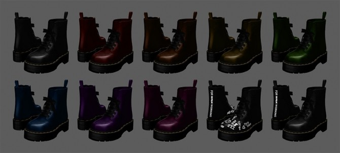 Dr. Martens Molly boots at MMSIMS image 877 670x302 Sims 4 Updates