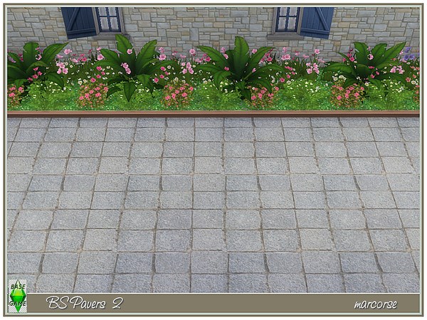 BS Paving by marcorse at TSR image 879 Sims 4 Updates