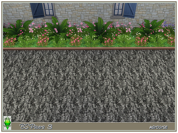 BS Paving by marcorse at TSR image 889 Sims 4 Updates