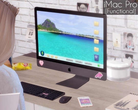 Sims 4 Functional iMac Pro at Descargas Sims