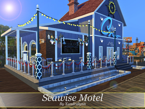 Seawise Motel by Xandralynn at TSR image 916 Sims 4 Updates