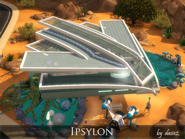 Ipsylon modern futuristic spaceship by dasie2 at TSR image 920 Sims 4 Updates