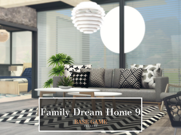 Sims 4 Family Dream Home 9 by Pralinesims at TSR