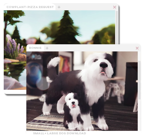 Bonnie dog at ohbluir image 941 Sims 4 Updates