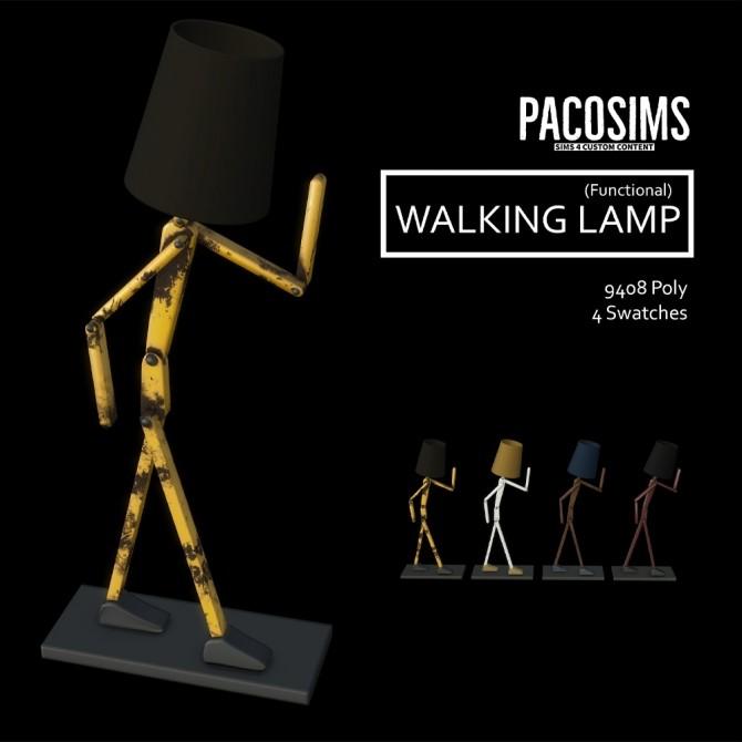 Sims 4 Walking Lamp at Paco Sims