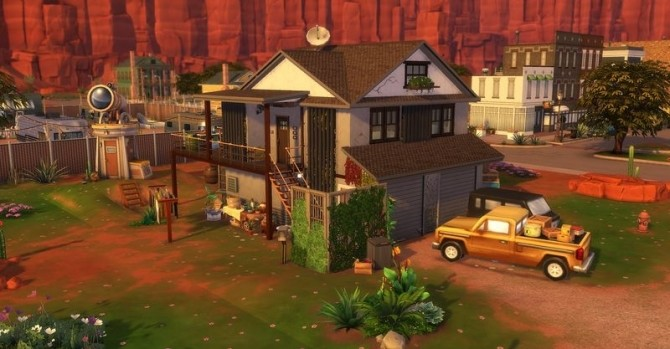 Sims 4 66 Rue Du Capharnaüm house by Chanchan24 at Sims Artists