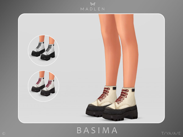 Madlen Basima Boots by MJ95 at TSR image 975 Sims 4 Updates