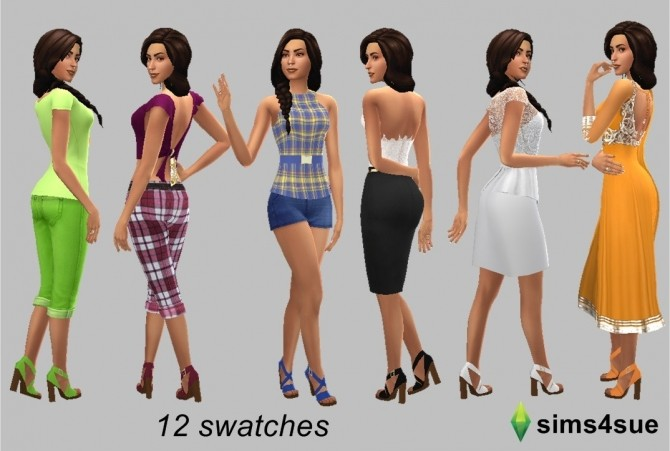 MADLEN'S FREDA SHOES RECOLOUR at Sims4Sue image 989 670x451 Sims 4 Updates