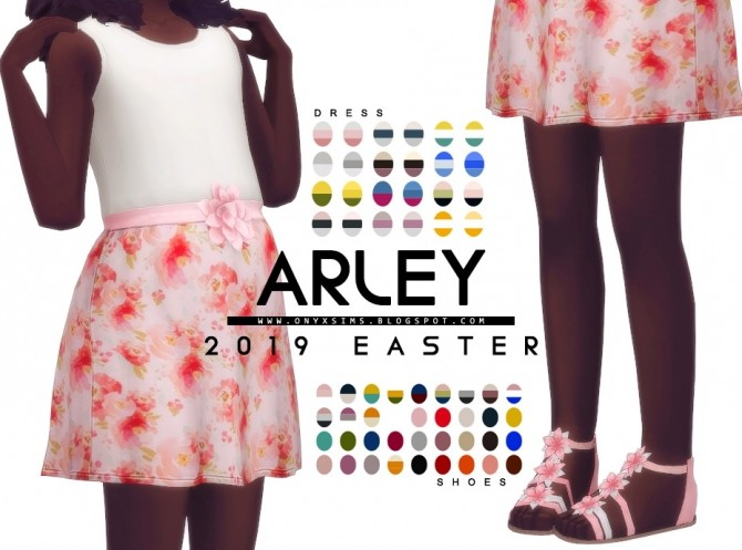 Easter 2019 Arley Set for girls at Onyx Sims image 9916 670x497 Sims 4 Updates