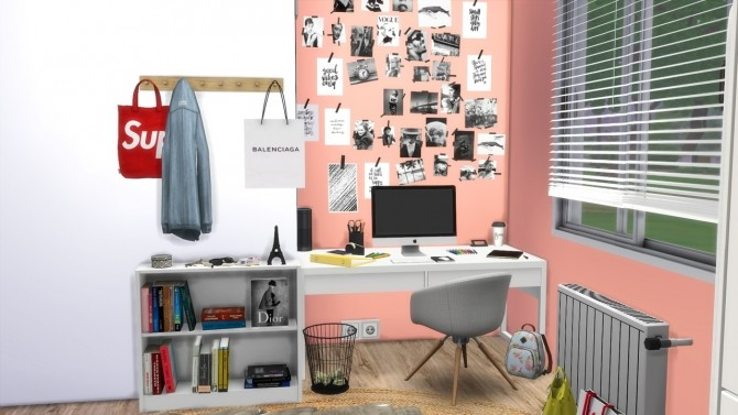TEENAGE GIRL BEDROOM at MODELSIMS4 image 9918 670x377 Sims 4 Updates