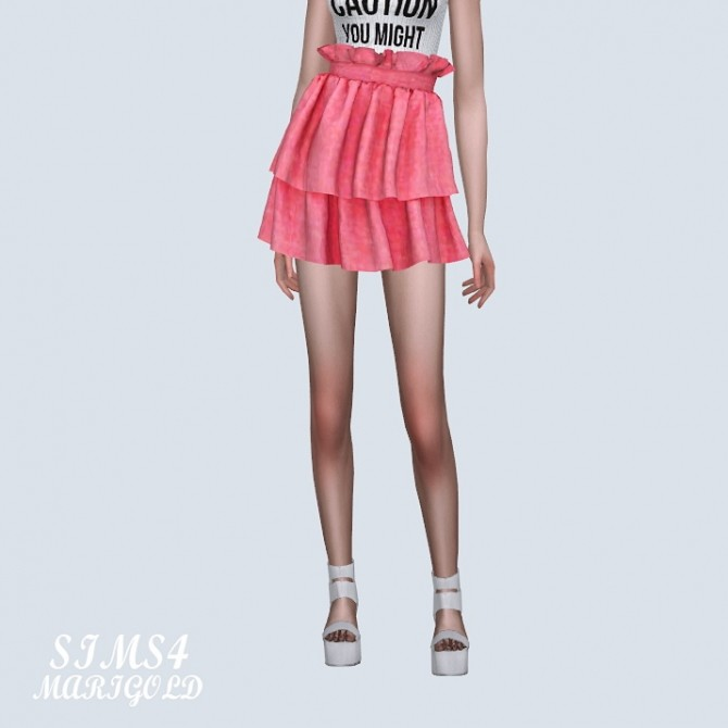 Tiered Skirt 2 at Marigold image 10011 670x670 Sims 4 Updates