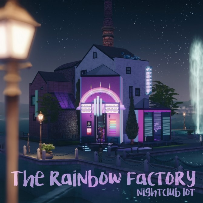 THE RAINBOW FACTORY club at Picture Amoebae image 1019 670x670 Sims 4 Updates