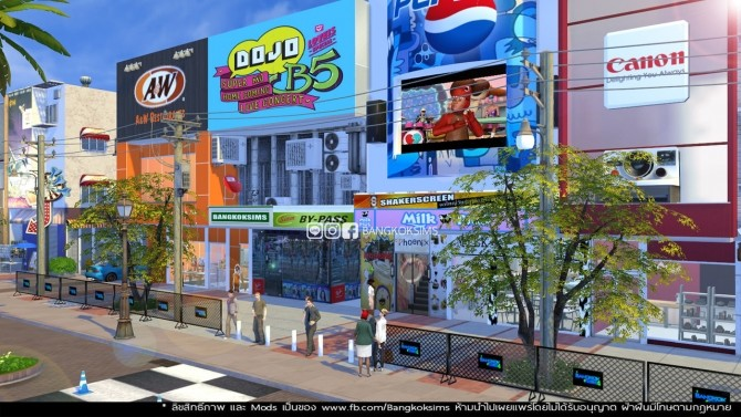 Centerpoint of Siam Square at BangkokSims image 1021 670x377 Sims 4 Updates