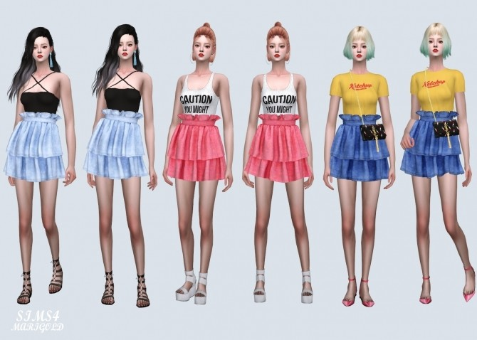 Tiered Skirt 2 at Marigold image 10312 670x478 Sims 4 Updates