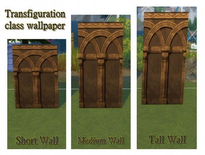 Hogwarts random wall and floor set by JH by huso1995 at Mod The Sims image 1072 670x507 Sims 4 Updates