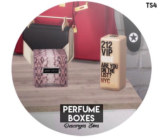 Sims 4 Perfume Boxes at Descargas Sims
