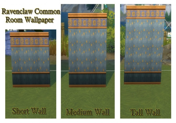 Hogwarts random wall and floor set by JH by huso1995 at Mod The Sims image 1082 670x467 Sims 4 Updates