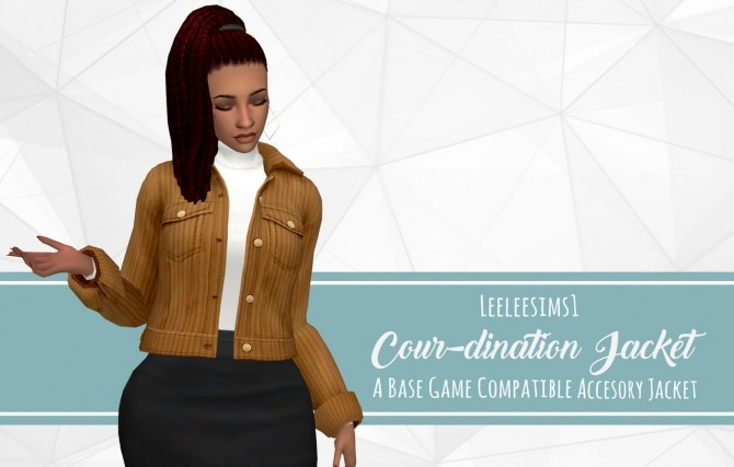 Cour dination Acc Jacket at leeleesims1 image 110 670x427 Sims 4 Updates