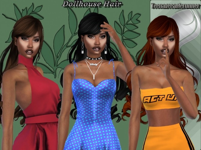 Dollhouse Hair Retexture at Teenageeaglerunner image 11015 670x503 Sims 4 Updates