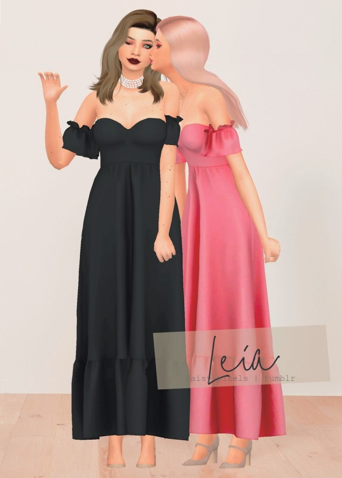 Leia Dress at Daisy Pixels image 11016 670x937 Sims 4 Updates