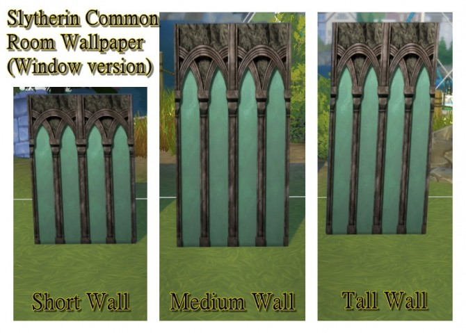 Hogwarts random wall and floor set by JH by huso1995 at Mod The Sims image 1102 670x479 Sims 4 Updates