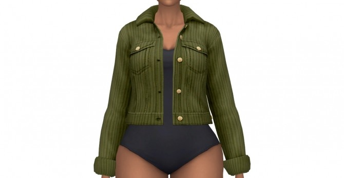 Sims 4 Cour dination Acc Jacket at leeleesims1
