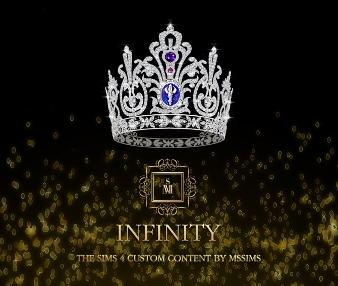 Sims 4 INFINITY CROWN at MSSIMS