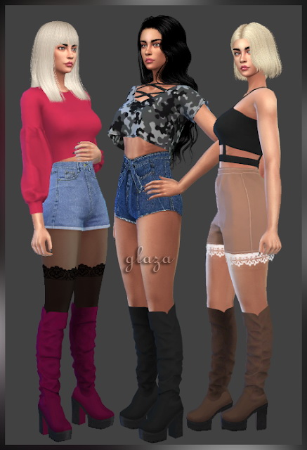 Sims 4 Shoes 11 (P) at All by Glaza