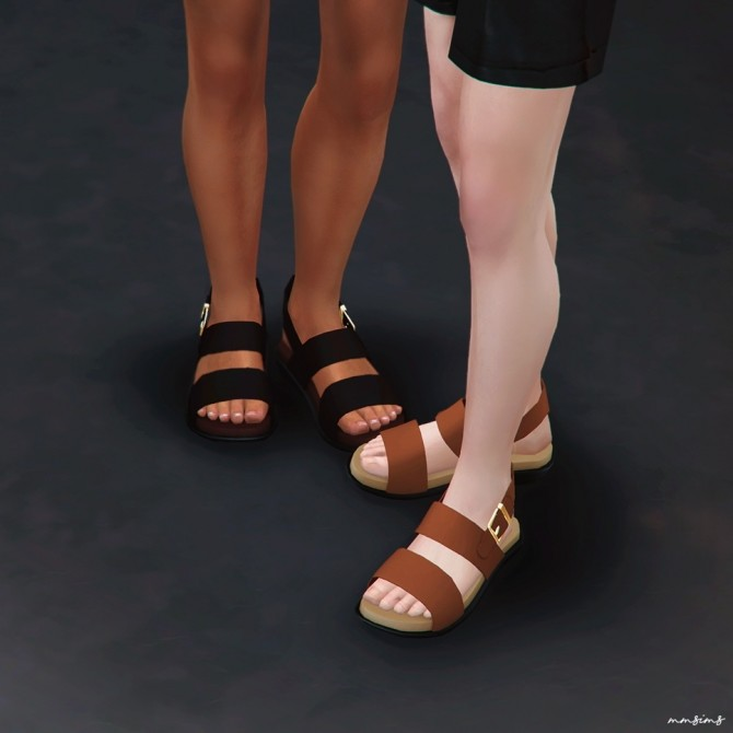 Sims 4 Primo Sandals at MMSIMS