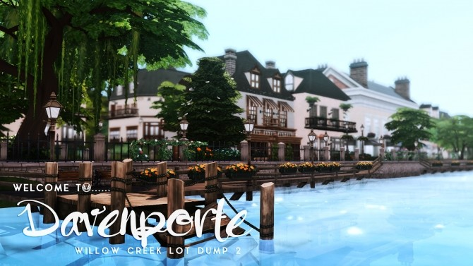 Davenporte Willow Creek Makeover Part 02 at Simsational Designs image 1164 670x377 Sims 4 Updates