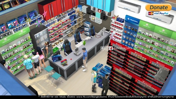 Game Center (P) at BangkokSims image 1191 670x377 Sims 4 Updates