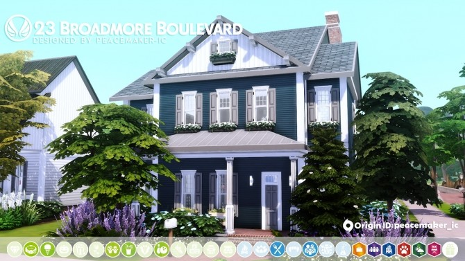 Davenporte Willow Creek Makeover Part 02 at Simsational Designs image 1206 670x377 Sims 4 Updates