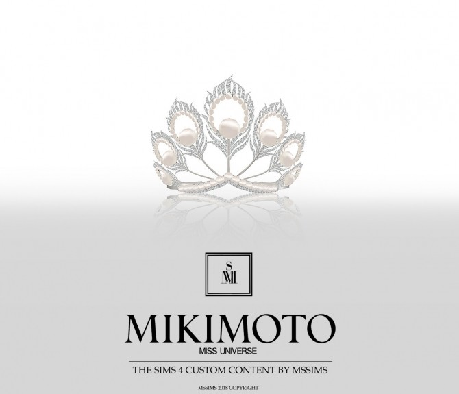 Sims 4 MIKIMOTO FOR MISS UNIVERSE CROWN at MSSIMS