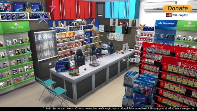 Game Center (P) at BangkokSims image 1211 670x377 Sims 4 Updates