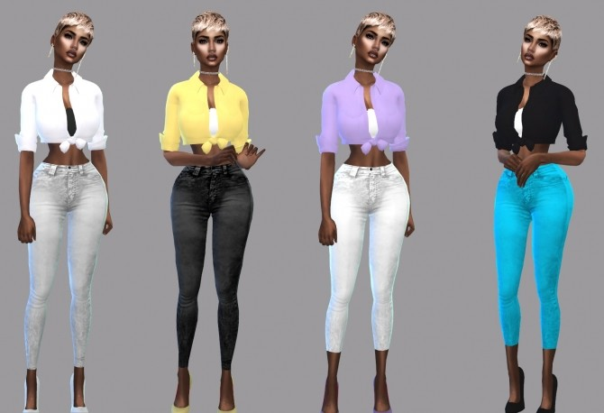 Sims 4 I Love Colors Collection at Teenageeaglerunner