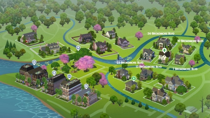 Davenporte Willow Creek Makeover Part 02 at Simsational Designs image 1229 670x377 Sims 4 Updates