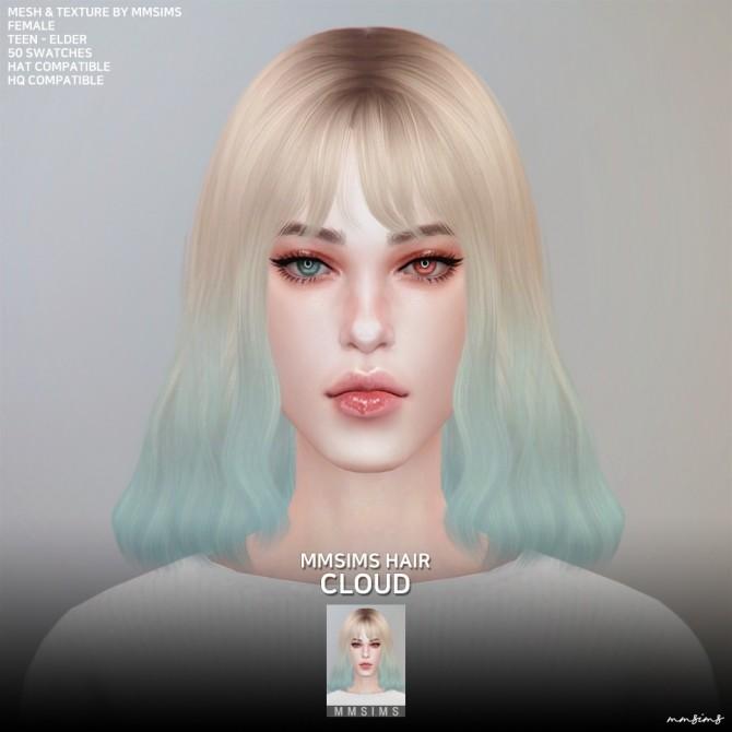 AF Hair 21 Cloud at MMSIMS image 1234 670x670 Sims 4 Updates