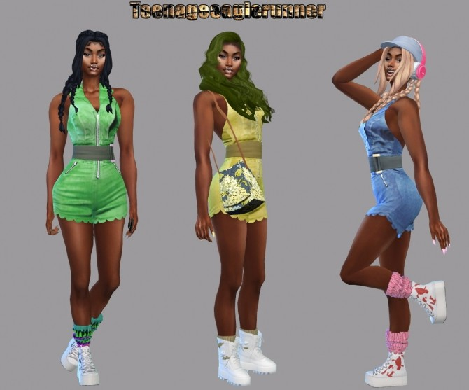 Zoe Romper Recolor at Teenageeaglerunner image 1253 670x557 Sims 4 Updates