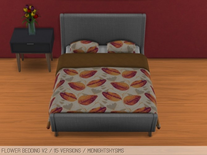 Flower beddings V2 at Midnightskysims image 1264 670x503 Sims 4 Updates