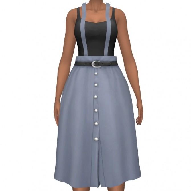Sims 4 Giddy Up Skirt Set at leeleesims1