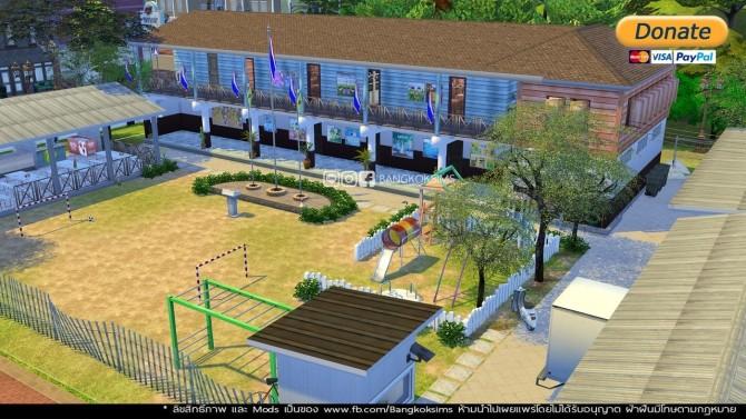 Public School (P) at BangkokSims image 1271 670x377 Sims 4 Updates
