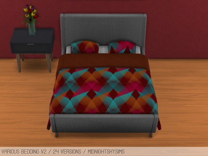 Flower beddings V2 at Midnightskysims image 1274 670x503 Sims 4 Updates