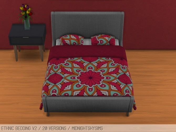Flower beddings V2 at Midnightskysims image 1284 670x503 Sims 4 Updates