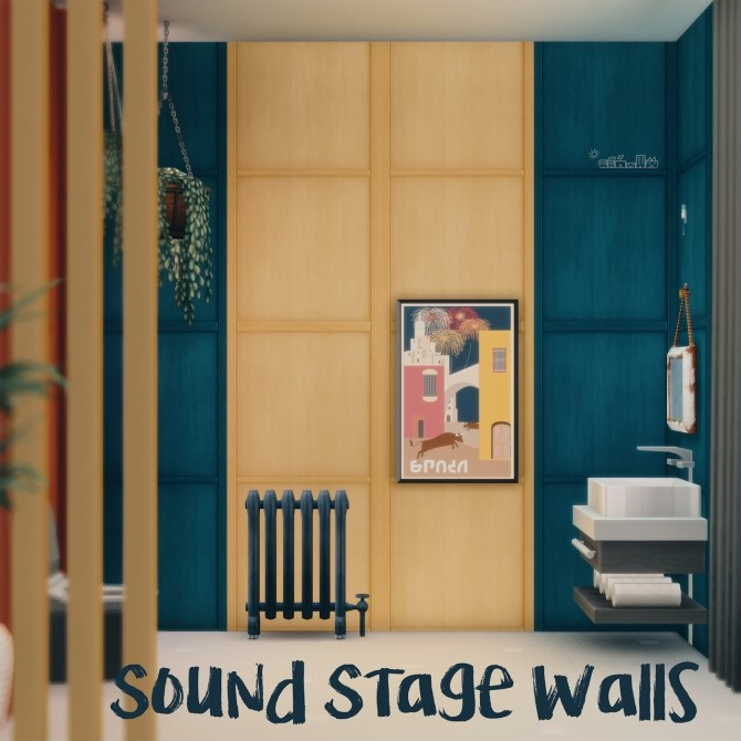 SOUND STAGE WALLS at Picture Amoebae image 1286 670x670 Sims 4 Updates